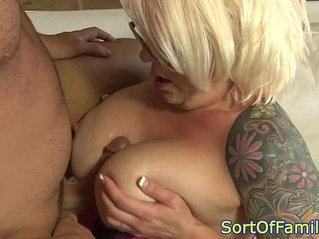 Cougar assfucked hard by daughters boyfriend