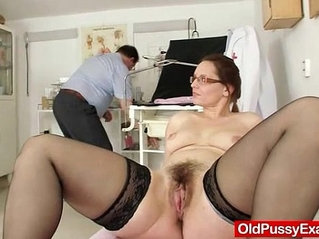Milf hairy pussy closeups and real gyno exam