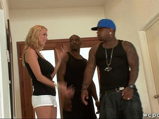 Interracial MILF Tag Team Fuck