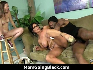 Mommy stuffed with BBC 21