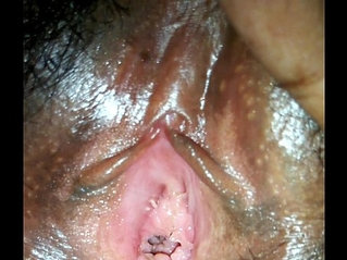 Inside view of aunty's pussy
